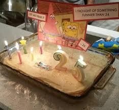 Turned 25 And Got A Classic Spongebob Cake 9gag