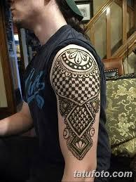 фото тату орнамент мужские 10072019 010 Tattoo Ornament For Men