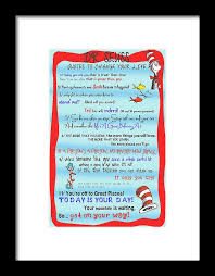 Change Your Life Quotes Gorgeous Dr Seuss Quotes To Change Your Life Framed Print By Georgia Fowler