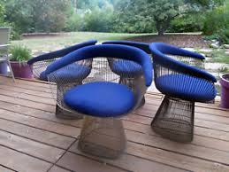 platner furniture. Image Is Loading Bronze-Warren-Platner-Chairs -Vintage-Priced-Individually-Sold- Platner Furniture