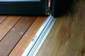 sliding glass door threshold patio door threshold replacement beautiful sliding glass sliding glass door threshold detail