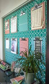 Diy Bulletin Board Design 15 Bulletin Board Diys To Get Organized