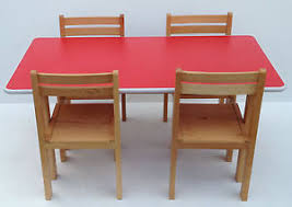preschool table. Image Is Loading Kids-Wooden-stacking-preschool-classroom-playgroup-table -chairs- Preschool Table C