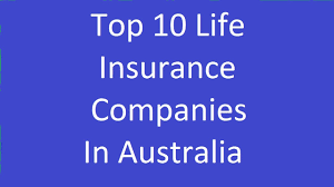 top 10 life insurance companies in australia