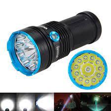 Đèn Pin Vastfire 30000lm 12 Xm-l T6 Led 4x18650