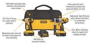 dewalt cordless power tools. features for free shipping \u2014 dewalt 18v nicad cordless power tool set 1/2in dewalt tools l
