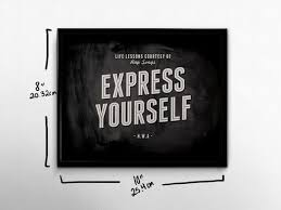 Rap Quotes About Life Impressive Rap Wall Art Express Yourself NWA Life Lessons 48s Hip Hop Etsy
