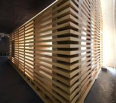 wood slat wall slatted walls interior design wood slat wallpaper