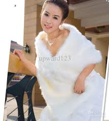 faux fur wedding wraps. 2017 white faux fur stole wrap wedding shrug bolero bridal shawl ≫≫76hg, short cloak bride dress from upward123, $10.0   dhgate.com wraps n