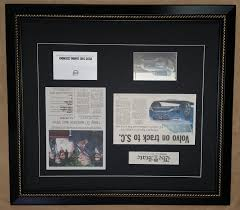 Framed Shop Newspaper Columbia – Article Frame
