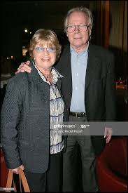 """Francoise Dorin, Jean Piat at Performance Of The Theater Play """"La ..."""