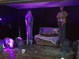 Strobe Light Halloween Ideas Easy Halloween Garage Transformation All You Need Garbage