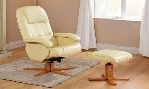 luxury leather recliner chairs. stress away luxury swivel reclining chair and foot stool leather recliner chairs i
