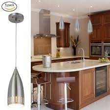 mini pendant light glass clear fixture chrome ceiling kitchen hanging frosted for