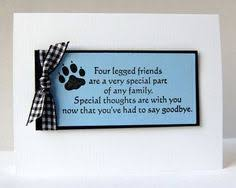 Card For Loss Of Pet 346 Best Card Making Pet Sympathy Images In 2019 Pet Sympathy