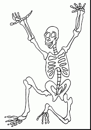 Dinosaur Skeleton Coloring Pages Axial Free 11551639 Attachment