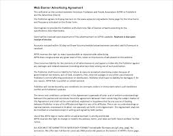 Free 17 Advertising Contract Examples In Pdf Google Docs