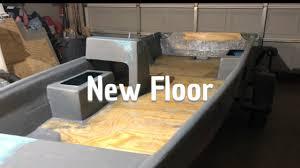 boat restoration 7 install fiberglass floor paint interior