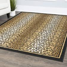 new leopard skin area rug 2x3 mat african modern carpet actual 2