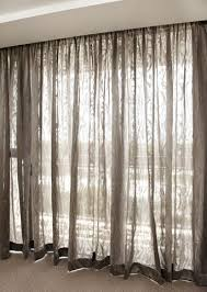 Cool Privacy Sheer Curtains Ideas with Sheer Curtains Provide Privacy And A  Smokey Hue To This