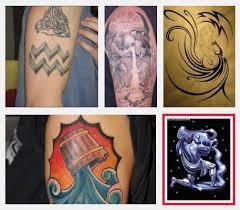 Top 9 Aquarius Tetování Vzory Styly V životě Punditschoolnet