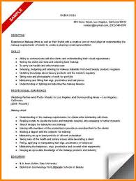 10 Professional Makeup Artist Resume Resume Cover Note