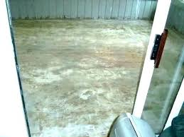 glue concrete floor remove