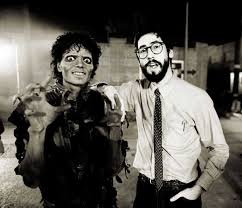 Michael Jackson and John Landis | Rare, weird & awesome celebrity photos | Michael  jackson, King of pop, The blues brothers