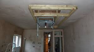 kitchen progress dropdown ceiling extractor
