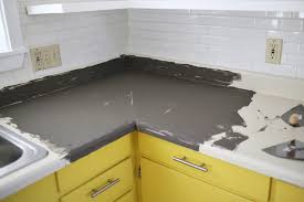Concrete Countertop Over Laminate Can You Install Tile Over Laminate Counters Floor Decoration