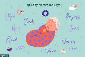 Top 1,000 <b>Baby Boy</b> Names in the U.S.