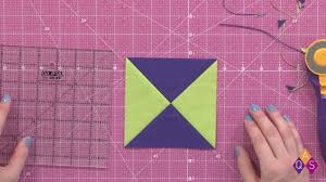 Sizing A Quarter Square Triangle Uquilt With Emily