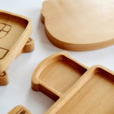 creative wooden furniture. Creative Wooden Tableware Solid Cartoon Animal Fruit Tray Baby Partition Plate Rice FISH SHAPE Dish-in Dishes \u0026 Plates From Home Garden On Furniture U