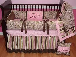 bedroom design lovely pink flowers per design and white sofa for crib bedding set girl