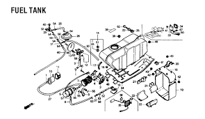 honda d fourtrax wiring diagram honda discover your 1987 honda fourtrax foreman 350 4x4 trx350d fuel tank parts best
