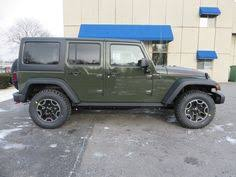2018 jeep wrangler unlimited rubicon in tank green just like the brochure