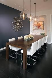 Image Design Adam Gibson Interior Design Contemporary Dining Room Design With Rectangular Dining Table Dig This Design How To Correctly Light Your Dining Room Table