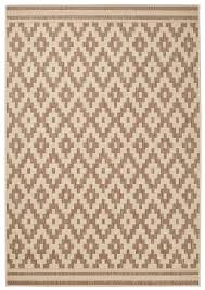diamond design rug durable flat weave polypropylene stain