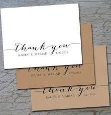 best 25 wedding thank you cards ideas on pinterest wedding Custom Photo Thank You Cards Wedding wedding thank you (folded or flat) cards notes postcards, white or cream or Wedding Thank You Card Designs