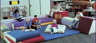 giant upholstered book furniture children library furniture