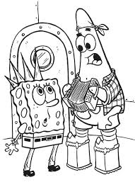 Small Picture Spongebob Coloring Pages Free Printable Patrick as Santa