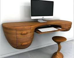 how to make computer desk wooden