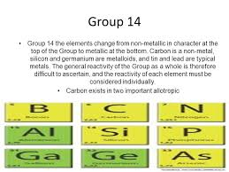 Group 14 Periodic Table Carbon Exists Two Important Allotropic ...