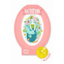 купить игрушку татуировка русалочка 09600 Djeco 09600 в магазине