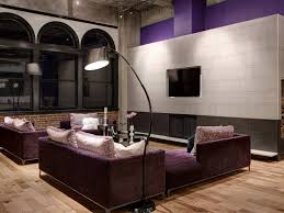 beautiful gray tiled accent wall design