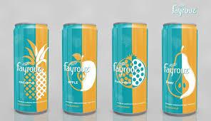 Drinks Can Design Fayrouz Fine Soda Can Beverage Packaging Packaging Design