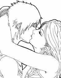 Color the pictures online or print them to color them with your paints or crayons. Anime Kissing Coloring Pages Colouring For Funny Last Anime Couples Kissing Coloring Pages 130244 Hd Wallpaper Backgrounds Download