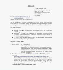 Career Objective On Resume Template Enchanting 48 Career Objective For Resume For Experienced Software Engineers
