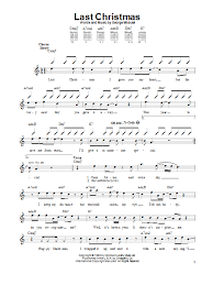 Learn how to play on the guitar careless whisper by george michael with tab, sheet music, chords, backing track and video tutorial. Wham Last Christmas Sheet Music Notes Chords Clarinet Download Pop 106387 Pdf