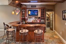 basement corner bar ideas. Basement Bar With A Wine Cellar Corner Ideas